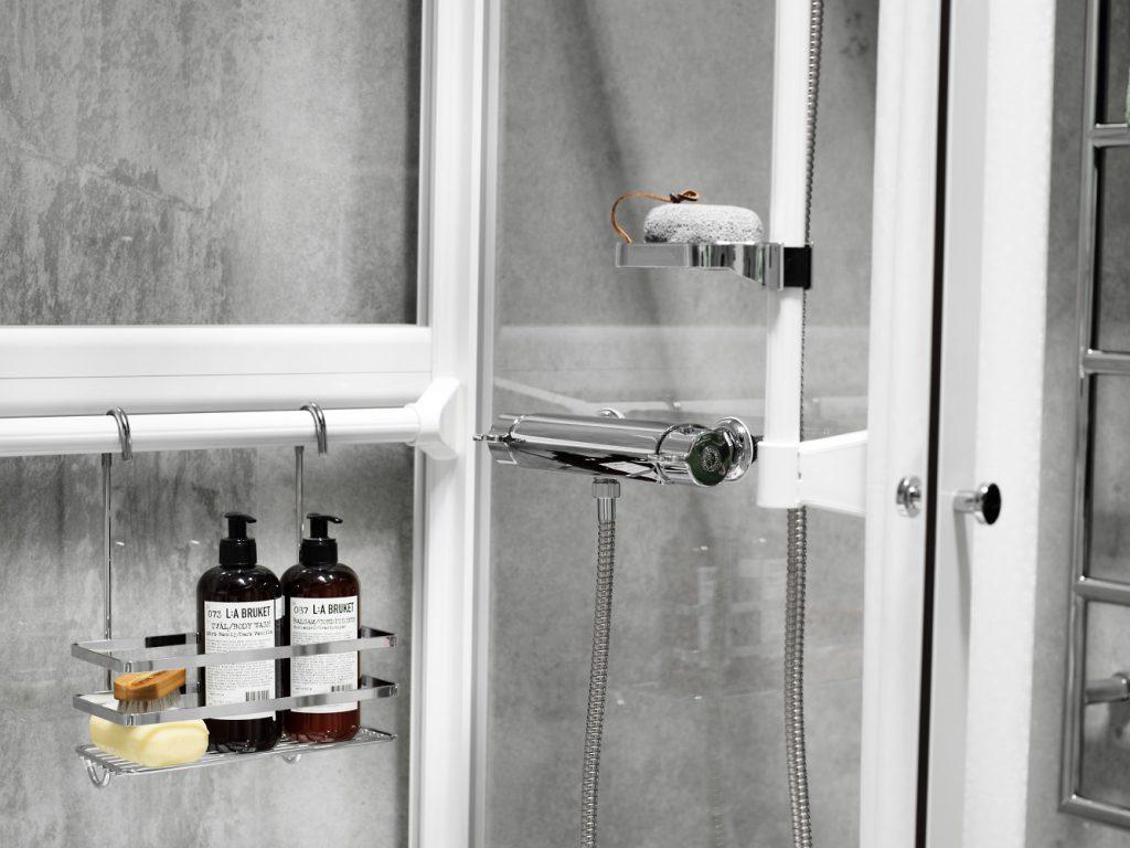 Smarta tillbehör till duschkabin